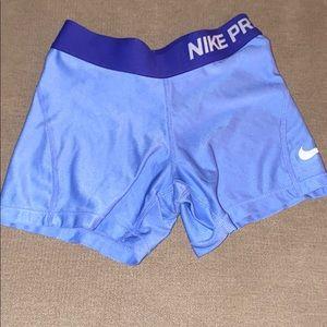 Kids Blue Nike Pro's 💙